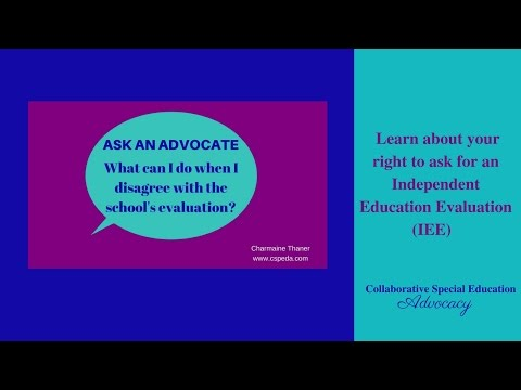 How to Ask For an Independent Education Evaluation