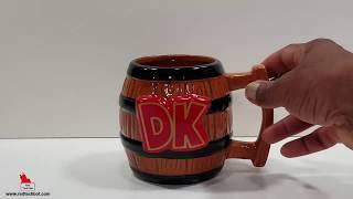Donkey Kong Country Coffee Mug Video Review
