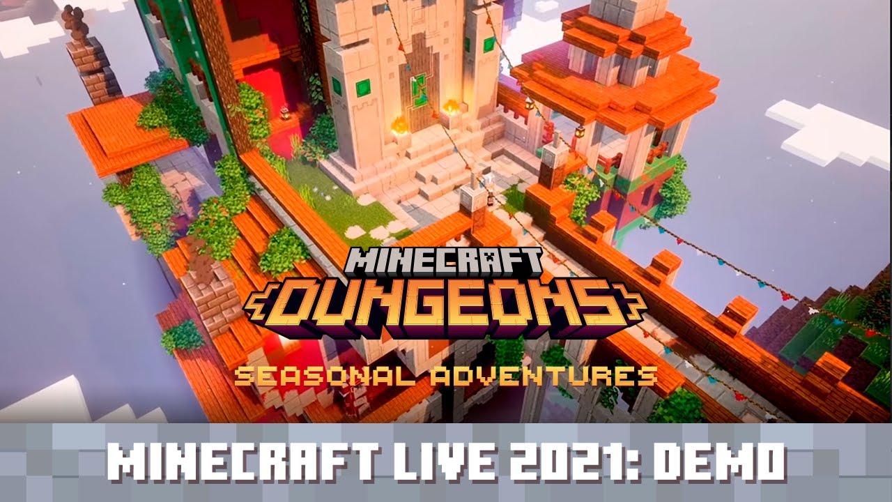 Minecraft Live 2021: Minecraft Dungeons Seasonal Adventures