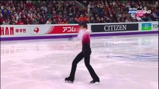 羽生結弦、2013 世界選手権フリー(B.ユーロ日本語字幕)