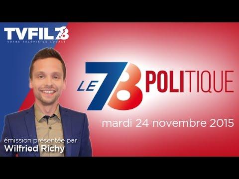 7/8 Politique – Emission du mardi 24 novembre 2015