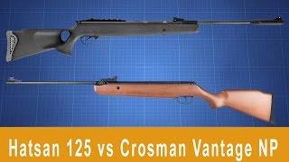Сравнение Hatsan 125 vs Crosman Vantage NP