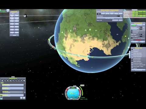 KSP: A Comprehensive Guide to RCS and Orbital Rendezvous (docking).