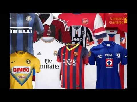 Camisetas De Futbol Del Mundo (Incluyendo Liga MX) 2013-2014 (Crítica)