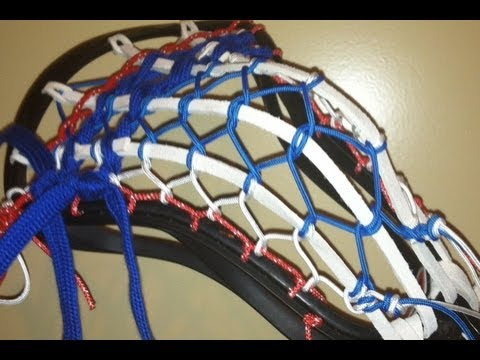 Traditional Lacrosse Pocket Stringing Tutorial - Multiple Strings By Connor Wilson