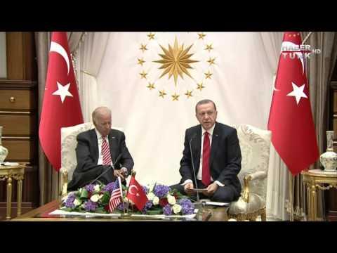 Recep Tayyip Erdoğan ve Joe Biden'ın açıklamalarının tümü