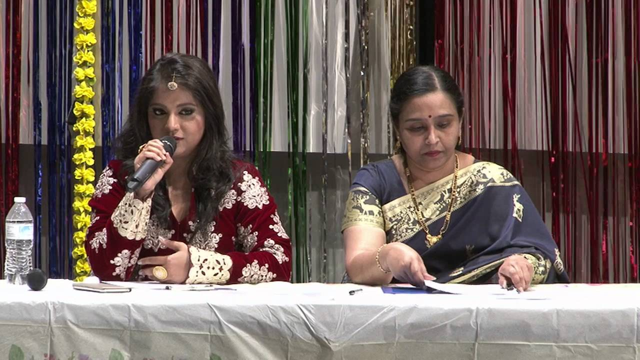 Introductory remarks by Singing Judges Ms.Sinchan Dixit and Mrs.Shanti Mahadevan at TSK Title