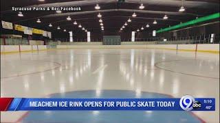 Meachem Ice Rink opens for public skate