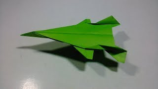 How To Make Fighter Paper Airplane | Paper Fighter Plane | Origami Fighter Jet Easy