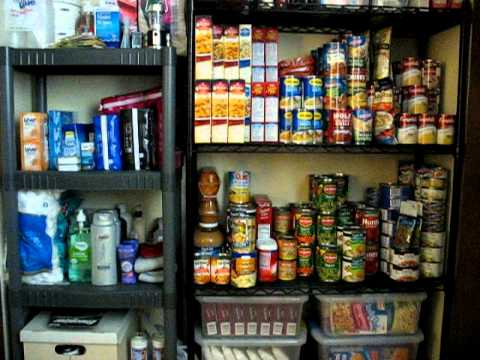Food Pantry Storage Cabinet