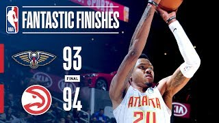 The Pelicans and Hawks Go Down to the Wire in Atlanta | January 17, 2018