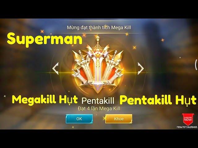 [Gcaothu] Hủy diệt trận đấu ăn 26 mạng cùng Pentakill, Megakill hụt đẳng cấp với sức mạnh Superman