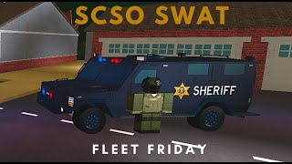 ROBLOX | Firestone Fleet Friday (SCSO SWAT)