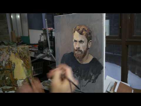 OCAD Studio: Limited Palette Portrait in Oils Part 4