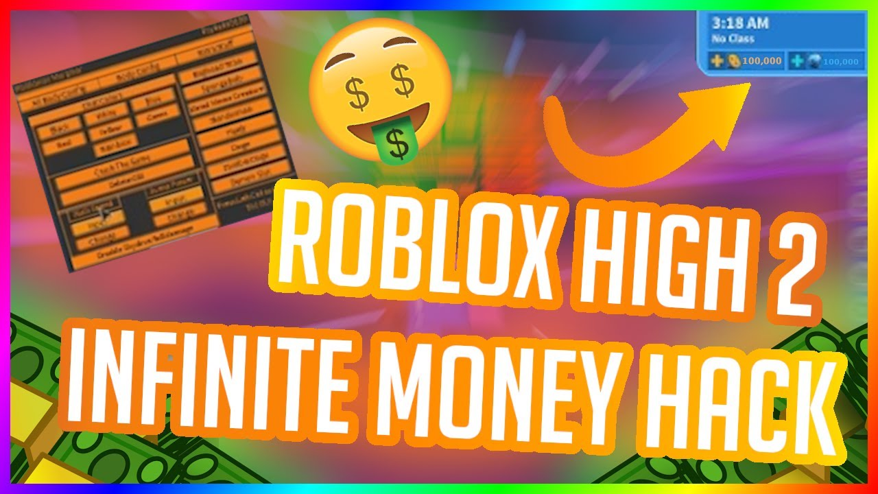 Roblox High School 2 Hack Money Hack 2020 Unpatched Youtube