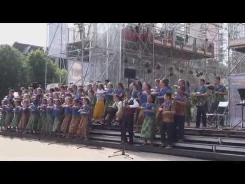 World Choir games 2014. Riga. Tygerberg Children's Choir, South Africa (12.07.2014 no 16.00)