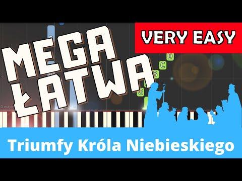 🎹 Triumfy Króla Niebieskiego - Piano Tutorial (MEGA ŁATWA wersja) 🎹