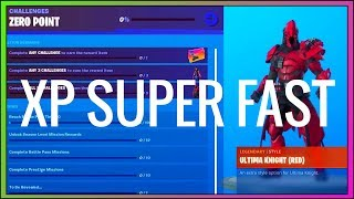 *NEW* BEST WAYS TO GET XP/LEVEL UP FAST IN FORTNITE SEASON X! (2019)