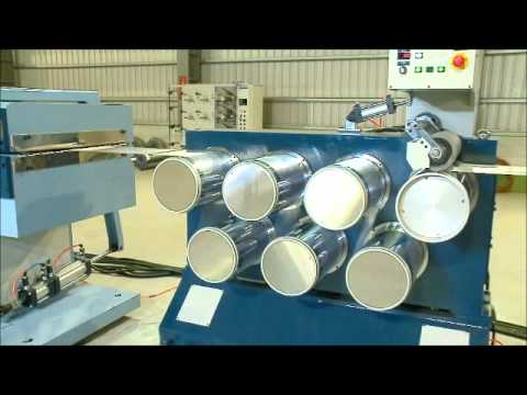 Nylon Monofilament Extruder Line.wmv