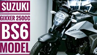 Suzuki GIXXER 250 BS6 // PRICE // Mileage, Review, Top SPEED, Specifications //