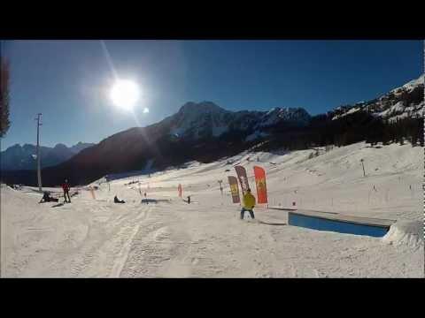 Christmas ski edit