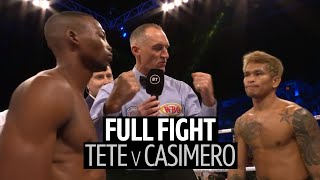 Zolani Tete v Johnriel Casimero full fight replay | Powerful third-round stoppage!