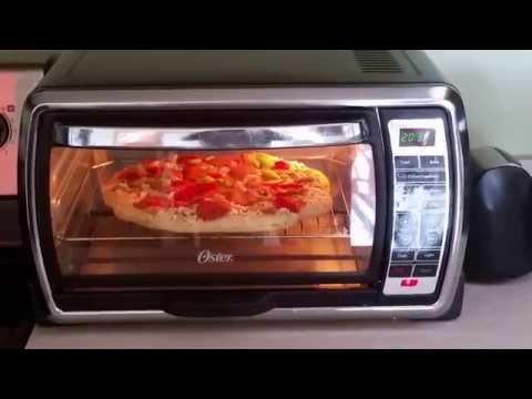 Kitchenaid Countertop Oven Youtube : Red Toaster Oven Oster oster toaster oven convection oven red baron ...