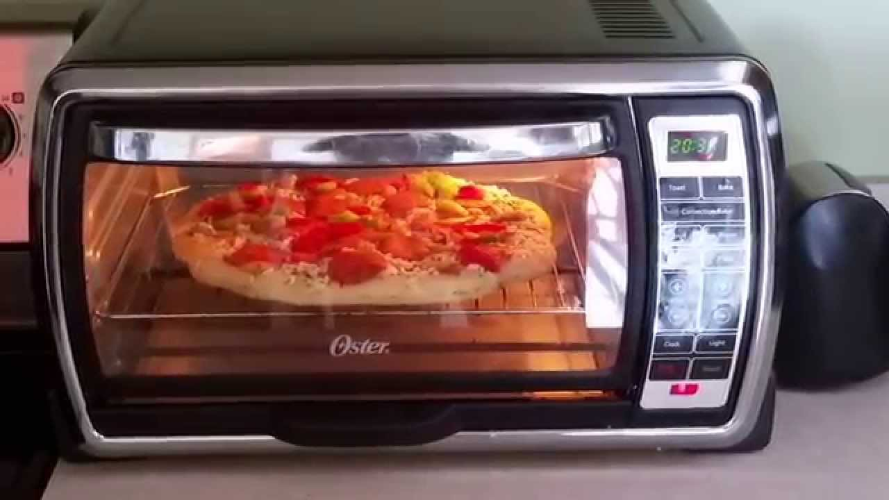 oven recipe pizza toaster quick