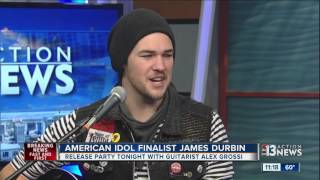 james durbin and quiet riot guitarist alex grossi team up for new ep