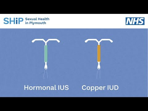 Having An IUD/IUS Contraception Fitted