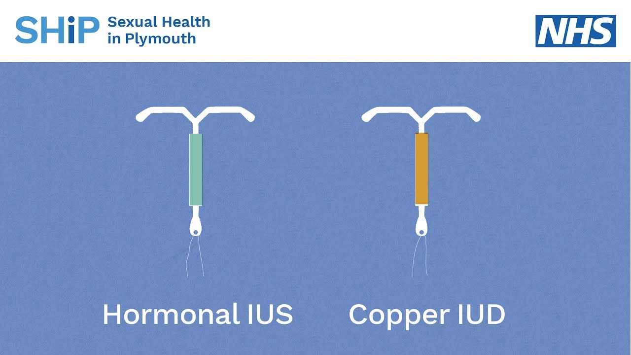 Having an IUD/IUS contraception fitted - YouTube