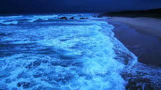 Sleep For 11 Hours Straight, High Quality Stereo Ocean Sounds Of Rolling Waves For Deep Sleeping