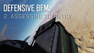 DCS World BFM - Defensive BFM 2 - Bandit Turn Circle Entry
