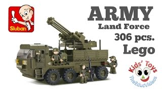 Army Land Forces Anti Aircraft - LEGO