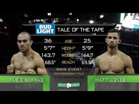 FRONT STREET FIGHTS 14: Fabio Serrao vs Matt Jones