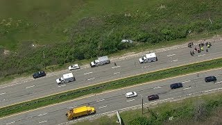 3 teens killed, 7 others injured Meadowbrook Parkway accident