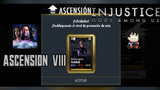 Injustice Gods Among Us Android Ascención de Oro Gatubela Batman Regresa Elite VIII