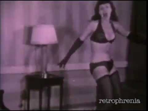 Bettie Page dances to 'Funnel Of Love' by Wanda Jackson