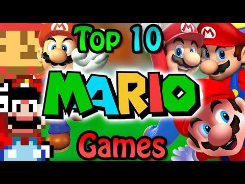 Top 10 Mario Games [Old]