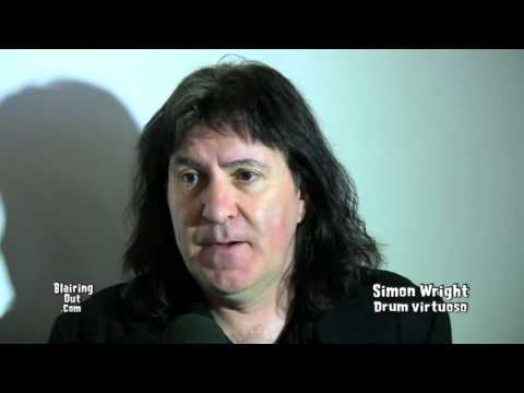 AC/DC,Dio drummer Simon Wright talks w Eric Blair @Namm 2013