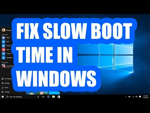9 ways to fix slow boot time in Windows 10 on SSD
