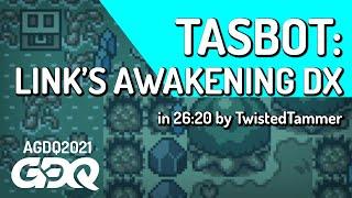Zelda: Link's Awakening DX TAS by TwistedTammer in 26:20 - Awesome Games Done Quick 2021 Online