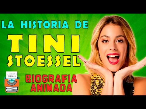 ⏩ La Historia de Tini Stoessel 🎤🎼 Biografia Animada 🎧❤