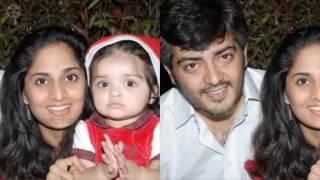 Actor Ajith Family Photos with Wife, Daughter Anoushka, Son Aadvik Pics Full HD