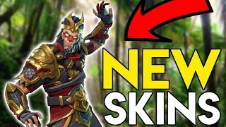 "Fortnite ""NEW WUKONG SKIN"" And ""NEW DRAGON AXE!"" GAMEPLAY!! NEW FORTNITE SKINS SHOULD YOU BUY?"
