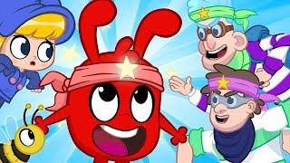 Ninja Morphle - My Magic Pet Morphle | Cartoons For Kids | Mila and Morphle