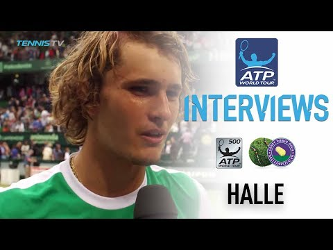Zverev Looks Ahead To Federer Final In Halle 2017