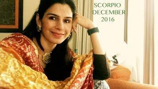 SCORPIO ASTROLOGY DECEMBER HOROSCOPE 2016  Tarot by Anisha