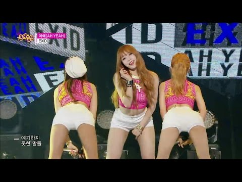 【TVPP】EXID - AH YEAH, 이엑스아이디 - 아예 @ Show Music core Live