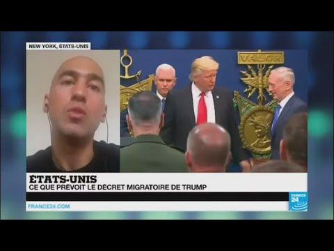 Les binationaux français exemptés du nouveau décret anti-immigration de Trump